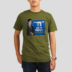 Archer Mancy Organic Men's T-Shirt (dark)