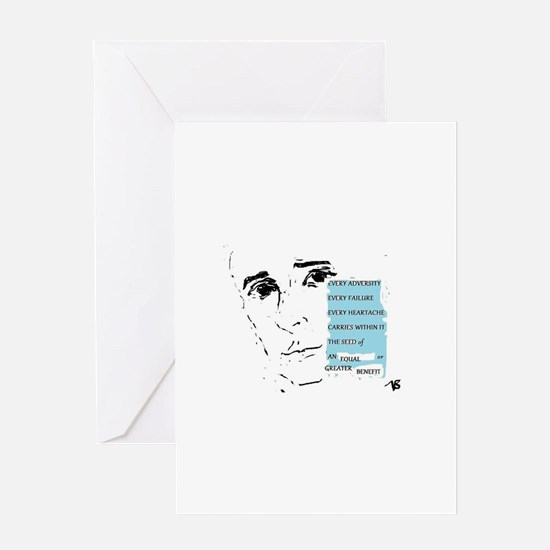 Napoleon Hill Greeting Cards