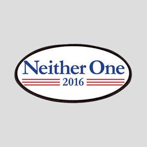 Neither One 2016 Logo Patch