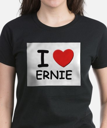 I love Ernie Ash Grey T-Shirt