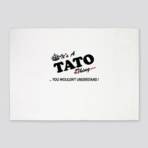 TATO thing, you wouldn't understand 5'x7'Area Rug