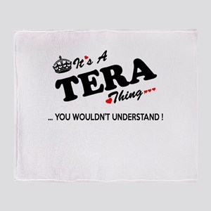 TERA thing, you wouldn't understand Throw Blanket