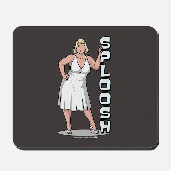 Archer Pam Sploosh Mousepad
