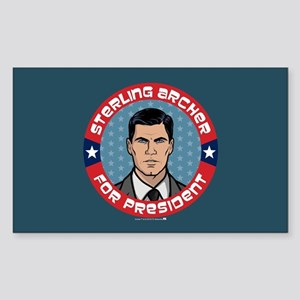 Archer Sterling Archer for Pre Sticker (Rectangle)