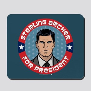 Archer Sterling Archer for President Mousepad