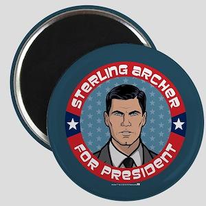 Archer Sterling Archer for President Magnet