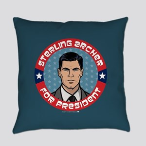 Archer Sterling Archer for Preside Everyday Pillow