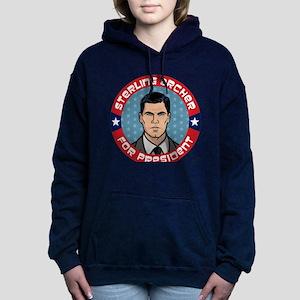 Archer Sterling Archer f Women's Hooded Sweatshirt