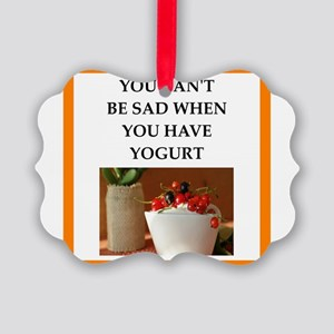 yogurt Ornament