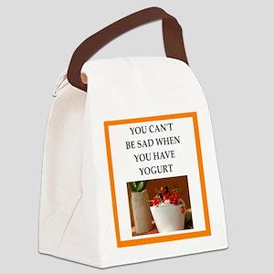 yogurt Canvas Lunch Bag