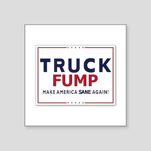 Truck Fump Make America Sane Again Sticker