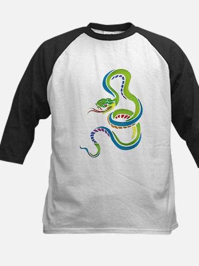 Artistic Snake Baseball Jersey