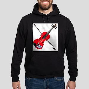 Arkansas State Fiddle Hoodie (dark)