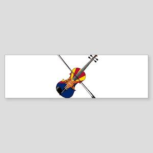 Arizona Fiddle Bumper Sticker