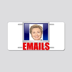 Hillary Emails Aluminum License Plate