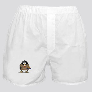I Love Latkes Penguin Boxer Shorts