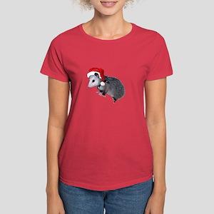 Santa Possum Women's Dark T-Shirt