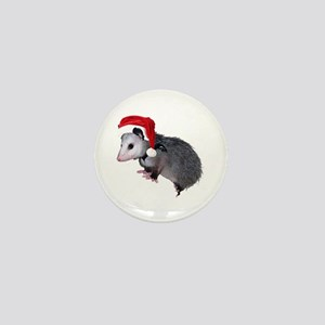 Santa Possum Mini Button