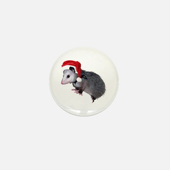 Santa Possum Mini Button