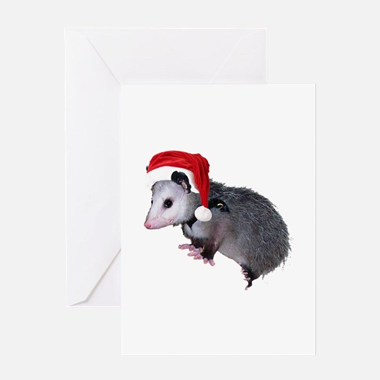 Santa Possum Greeting Card
