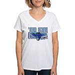 1966 Pontiac GTO Women's V-Neck T-Shirt