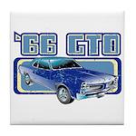 1966 Pontiac GTO Tile Coaster