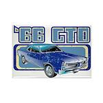 1966 Pontiac GTO Rectangle Magnet (100 pack)