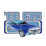 1966 Pontiac GTO Postcards (Package of 8)