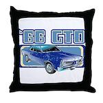 1966 Pontiac GTO Throw Pillow