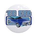 1966 Pontiac GTO Ornament (Round)