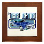 1966 Pontiac GTO Framed Tile