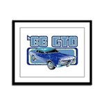 1966 Pontiac GTO Framed Panel Print