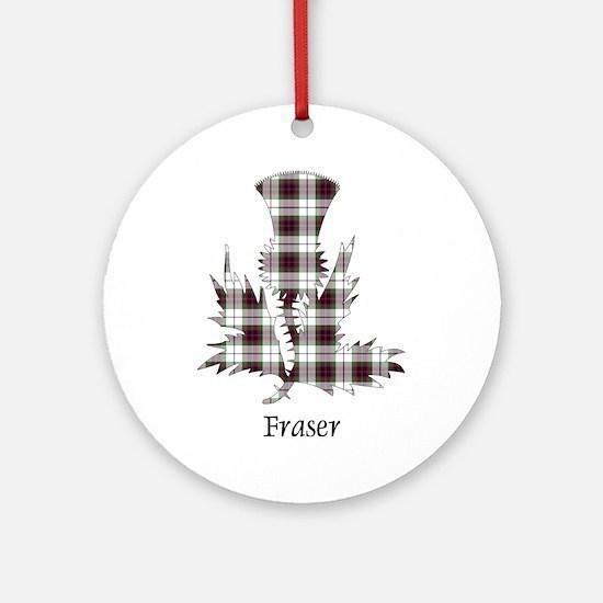 Thistle - Fraser dress Ornament (Round)