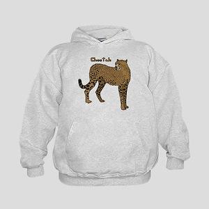 Cheetah Kids Hoodie