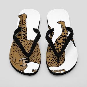46c0735ba29e6c Cheetah Flip Flops - CafePress