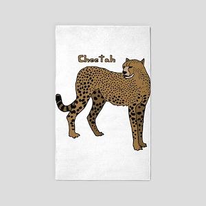 Cheetah Area Rug
