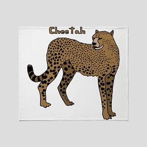 Cheetah Throw Blanket