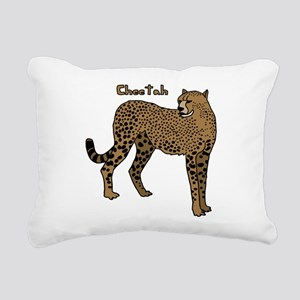 Cheetah Rectangular Canvas Pillow