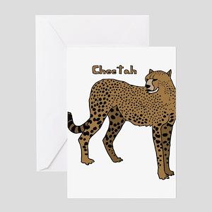 Cheetah Greeting Cards