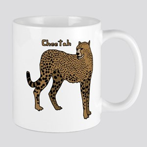Cheetah Mugs