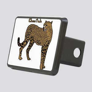 Cheetah Rectangular Hitch Cover