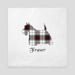 Terrier-Fraser dress Queen Duvet