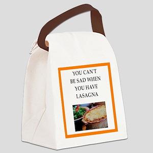 lasagna Canvas Lunch Bag