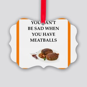 meatballs Ornament