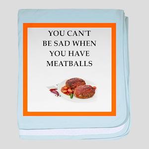 meatballs baby blanket