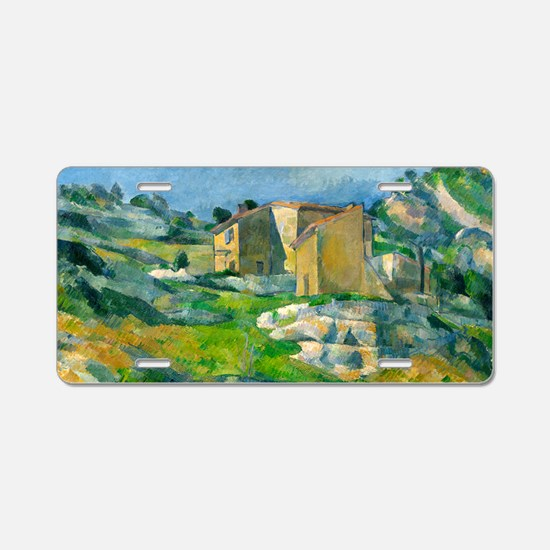 Houses in Provence by Paul Cézanne Aluminum Licens