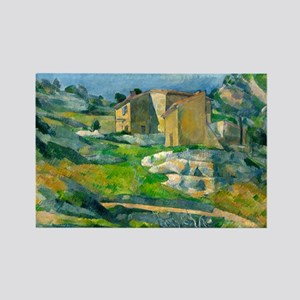 Houses in Provence by Paul Cézanne Magnets