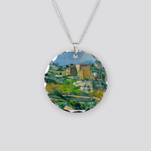 Houses in Provence by Paul Cézanne Necklace