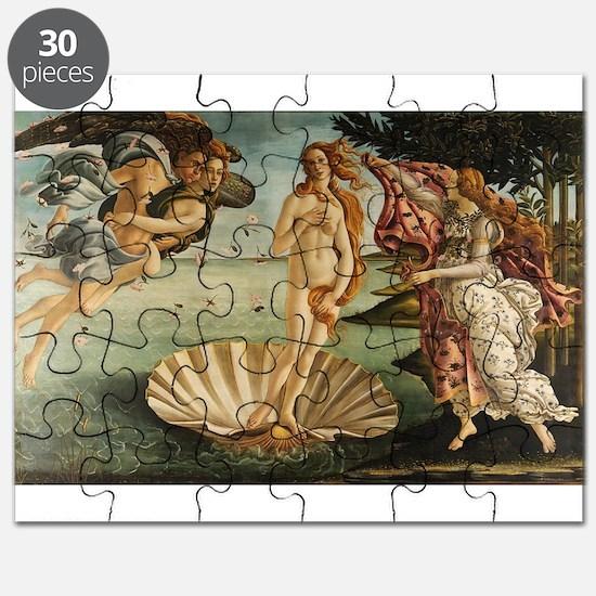 Botticelli - Birth of Venus Puzzle