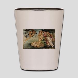 Botticelli - Birth of Venus Shot Glass